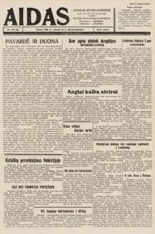 """Aidas : vilniaus lietuvių laikraštis eina tris kartus savaitėje : duoda nemokamus priedus ūkininkams-""""ūkininką"""", Vaikams-""""Varpelį"""". 1939, nr23"""