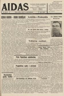 """Aidas : vilniaus lietuvių laikraštis eina tris kartus savaitėje : duoda nemokamus priedus ūkininkams-""""ūkininką"""", Vaikams-""""Varpelį"""". 1939, nr29"""