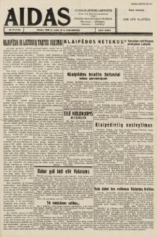 """Aidas : vilniaus lietuvių laikraštis eina tris kartus savaitėje : duoda nemokamus priedus ūkininkams-""""ūkininką"""", Vaikams-""""Varpelį"""". 1939, nr37"""
