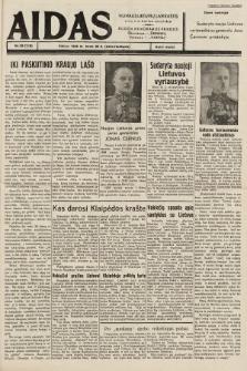 """Aidas : vilniaus lietuvių laikraštis eina tris kartus savaitėje : duoda nemokamus priedus ūkininkams-""""ūkininką"""", Vaikams-""""Varpelį"""". 1939, nr38"""