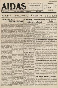 """Aidas : vilniaus lietuvių laikraštis eina tris kartus savaitėje : duoda nemokamus priedus ūkininkams-""""ūkininką"""", Vaikams-""""Varpelį"""". 1939, nr42"""