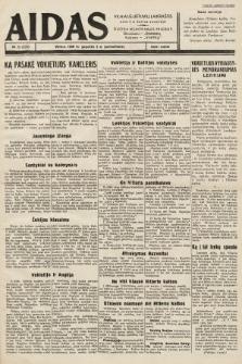 """Aidas : vilniaus lietuvių laikraštis eina tris kartus savaitėje : duoda nemokamus priedus ūkininkams-""""ūkininką"""", Vaikams-""""Varpelį"""". 1939, nr51"""