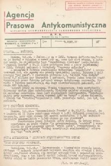 Agencja Prasowa Antykomunistyczna : APA. 1937, nr45