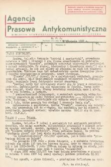 Agencja Prasowa Antykomunistyczna : APA. 1937, nr46