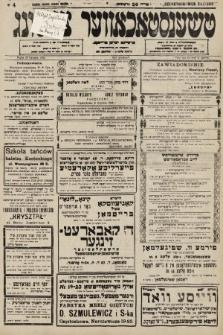 Čenstokower Cajtung = Częstochower Cajtung : eršajnt jeden frajtog. 1936, nr4
