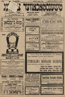 Čenstokower Cajtung = Częstochower Cajtung : eršajnt jeden frajtog. 1936, nr22