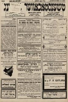 Čenstokower Cajtung = Częstochower Cajtung : eršajnt jeden frajtog. 1936, nr24