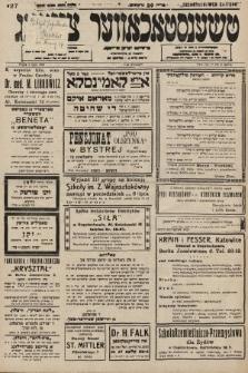 Čenstokower Cajtung = Częstochower Cajtung : eršajnt jeden frajtog. 1936, nr27