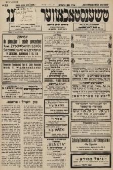 Čenstokower Cajtung = Częstochower Cajtung : eršajnt jeden frajtog. 1936, nr33