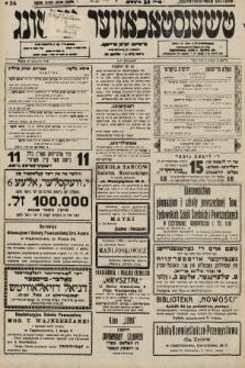 Čenstokower Cajtung = Częstochower Cajtung : eršajnt jeden frajtog. 1936, nr34