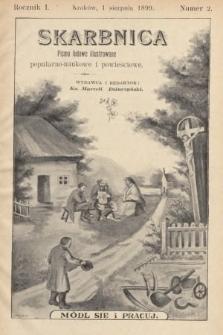 Skarbnica : popularno-naukowa i powieściowa dla ludu polskiego. R. 1, 1899, nr2