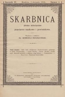 Skarbnica : pismo popularno-naukowe i powieściowe. R. 4, 1901, nr2