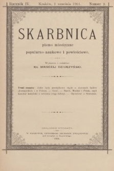 Skarbnica : pismo popularno-naukowe i powieściowe. R. 4, 1901, nr3