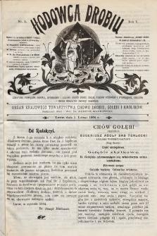 Hodowca Drobiu. 1904, nr2