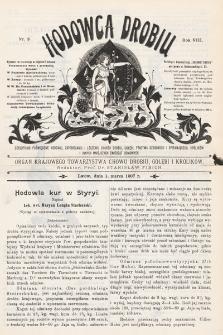 Hodowca Drobiu. 1907, nr3