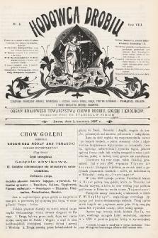 Hodowca Drobiu. 1907, nr4