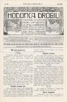 Hodowca Drobiu. 1911, nr8