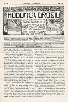 Hodowca Drobiu. 1911, nr9