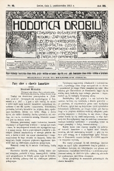 Hodowca Drobiu. 1911, nr10
