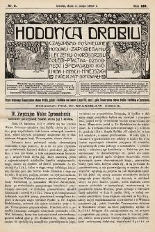Hodowca Drobiu. 1913, nr5