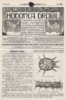 Hodowca Drobiu. 1913, nr8-9