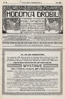Hodowca Drobiu. 1913, nr11