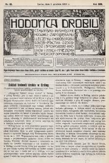 Hodowca Drobiu. 1913, nr12