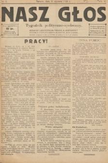 Nasz Głos : tygodnik polityczno-społeczny. 1926, nr5