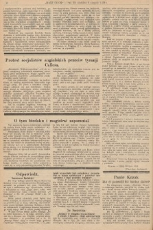 Nasz Głos : tygodnik polityczno-społeczny. 1928, nr32