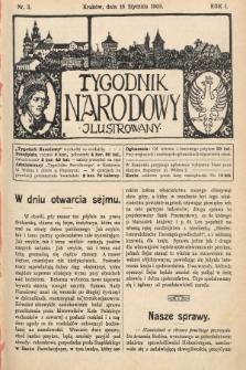 Tygodnik Narodowy Ilustrowany. 1910, nr3