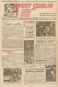 Sport Szkolny. 1938, nr3