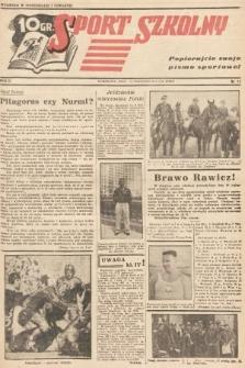 Sport Szkolny. 1938, nr11