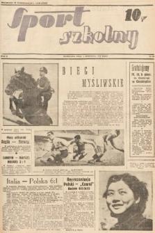 Sport Szkolny. 1938, nr18