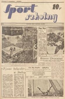 Sport Szkolny. 1938, nr22