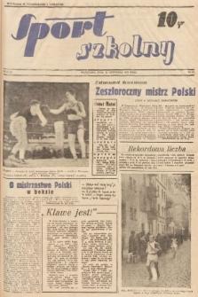 Sport Szkolny. 1938, nr23