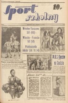Sport Szkolny. 1938, nr26