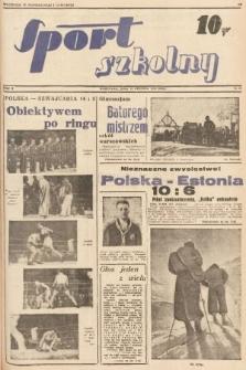 Sport Szkolny. 1938, nr28