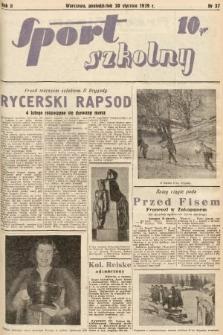 Sport Szkolny. 1939, nr37