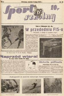 Sport Szkolny. 1939, nr40