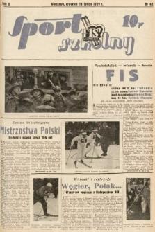 Sport Szkolny. 1939, nr42
