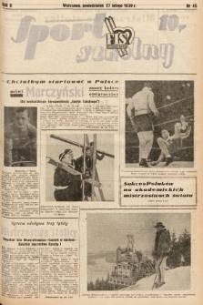 Sport Szkolny. 1939, nr45