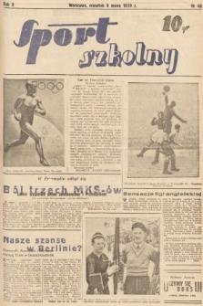 Sport Szkolny. 1939, nr48