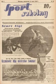 Sport Szkolny. 1939, nr53