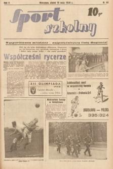 Sport Szkolny. 1939, nr66