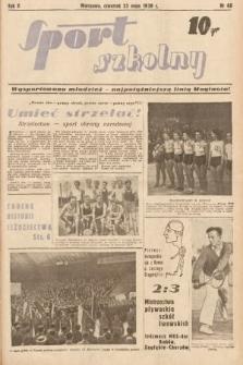 Sport Szkolny. 1939, nr68