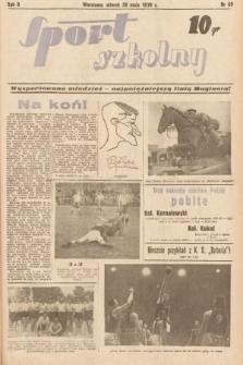 Sport Szkolny. 1939, nr69