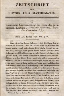 Zeitschrift für Physik und Mathematik. Bd. 6, 1829, [Heft 2]