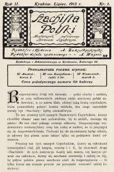 Szachista Polski : miesięcznik poświęcony sprawom szachowym. 1913, nr1