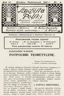 Szachista Polski : miesięcznik poświęcony sprawom szachowym. 1913, nr4
