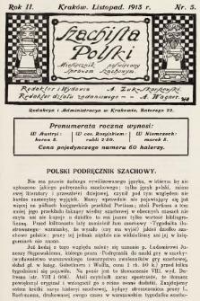 Szachista Polski : miesięcznik poświęcony sprawom szachowym. 1913, nr5